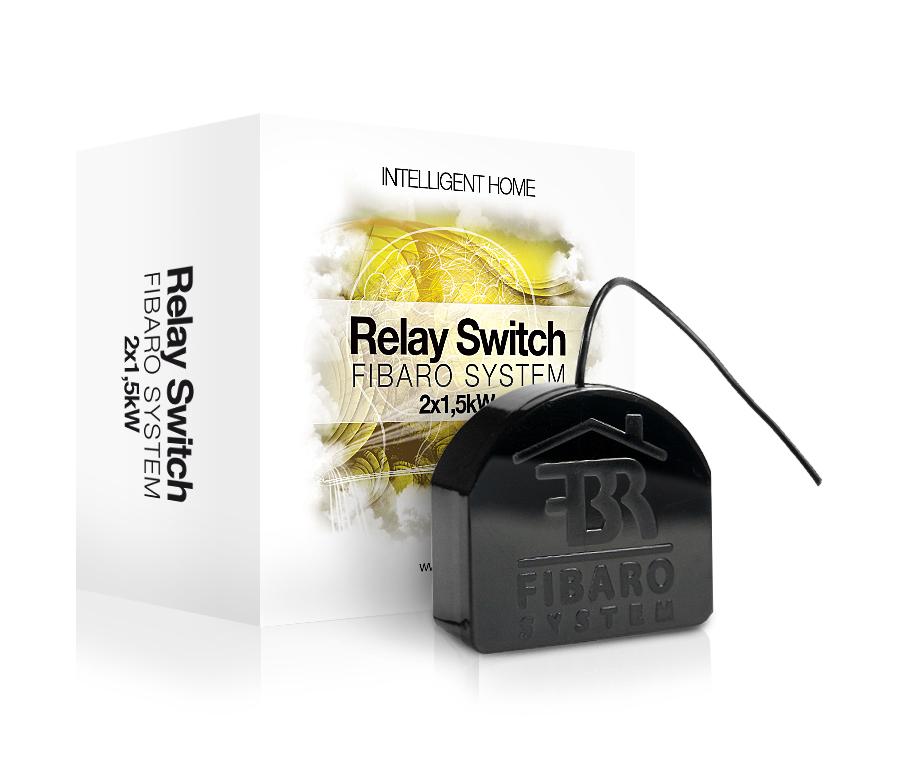 relay switch 2x15kw